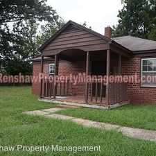 Rental info for 3524 Carrington Rd in the Memphis area