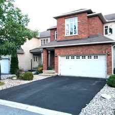 Rental info for 61 Alameda Way in the Rideau-goulbourn area