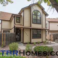 Rental info for 1789 S Pitkin Cir in the Aurora Highlands area