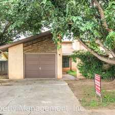Rental info for 8207 Memphis Ave. #A in the Lubbock area