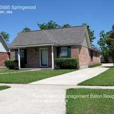Rental info for 15685 Springwood in the Baton Rouge area