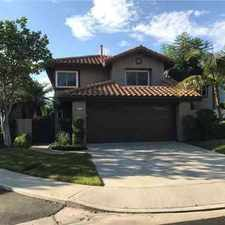 Rental info for 24351 Mira Verde Laguna Niguel Three BR, Welcome home to this