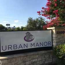 Rental info for Urban Manor in the Fort Worth area