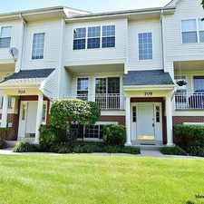 Rental info for 705 Pheasant Trail in the St. Charles area