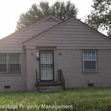 Rental info for 1167 National St. in the Memphis area