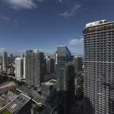 Rental info for Solitair Brickell in the Downtown area