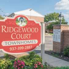 Rental info for Ridgewood Court Townhomes in the Springfield area