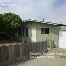 Rental info for 3105 Salinas Ave