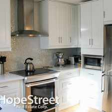 Rental info for 1407 1 Street NE - 2 Bedroom Townhome for Rent in the Crescent Heights area