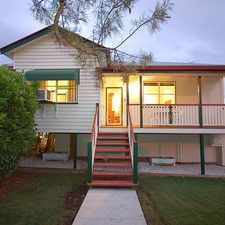 Rental info for LARGE FAMILY HOME CENTRALLY LOCATED ! in the Brisbane area