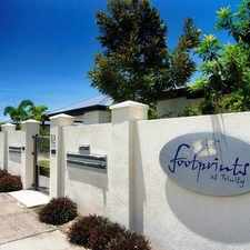 Rental info for FOOTPRINTS AT TRINITY in the Cairns area