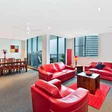 Rental info for FULLY FURNISHED MODERN 1 BEDROOM + STUDY APARTMENT