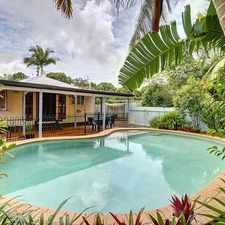Rental info for Large Queenslander Home On Top in the Sunshine Coast area