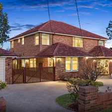 Rental info for Spacious Family Home in Tranquil Setting in the Sydney area