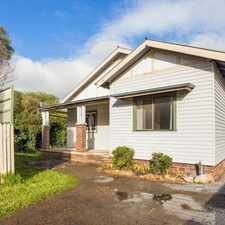 Rental info for QUIET LOCATION IN NORTH GOULBURN
