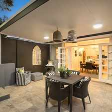 Rental info for Striking & Sophisticated Federation Semi in the Mosman area