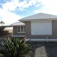 Rental info for FAMILY HOME - EASILY MAINTAINED in the Adelaide area