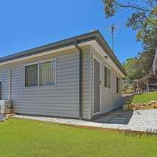 Rental info for Near New 2 Bedroom Granny Flat in the Hornsby Heights area