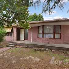 Rental info for A 4 bedroom home on a fully fenced corner block in the Melbourne area