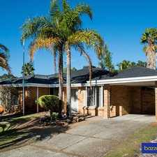 Rental info for If this isn't value I don't know what is! in the Ballajura area