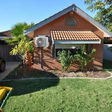 Rental info for JUST GORGEOUS AND A RARE BACK YARD in the Perth area