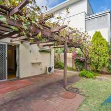 Rental info for COTTESLOE BUNGALOW