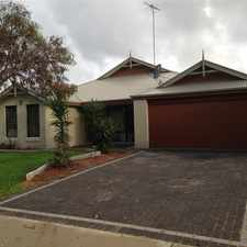 Rental info for 4 Bedroom Family Home in the Perth area