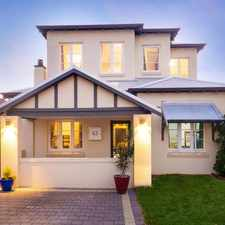 Rental info for A true Mount Hawthorn MASTERPIECE!