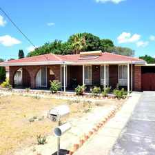 Rental info for CENTRAL LOCATION! - LAWN MOWING INCLUDED! in the Girrawheen area