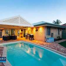 Rental info for Spacious Family Home in the Karrinyup area