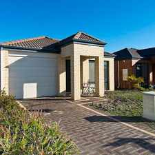 Rental info for OPEN TO VIEW WED 20 SEP 5.30PM in the Canning Vale area
