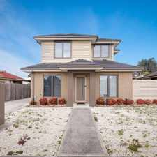 Rental info for STUNNING LUXURY TOWNHOUSE! in the Melbourne area