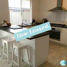 Rental info for DELIGHTFUL SPACIOUS THREE BED PROPERTY in the Perth area