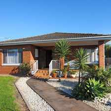 Rental info for Minutes to Mordialloc Central