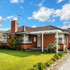 Rental info for Fit for Family living! in the Bentleigh East area