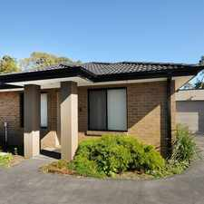 Rental info for Near New Unit In a small complex in the Melbourne area