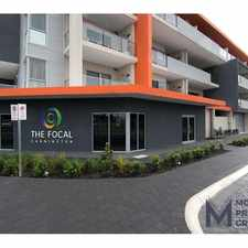 Rental info for BRAND NEW APARTMENT WITHIN THE FOCAL CANNINGTON