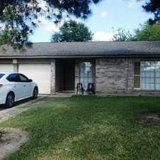 Rental info for 9410 Bauerlein Drive in the Houston area