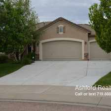 Rental info for 2644 Cinnabar Road in the Flying Horse Ranch area