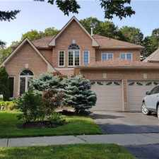 Rental info for 12 Carlyle Crescent in the Aurora area
