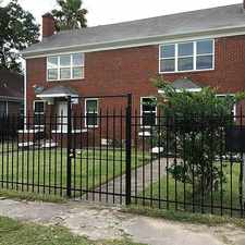 Rental info for 2217 Truxillo Street in the Houston area