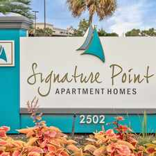 Rental info for Signature Point Apartment Homes