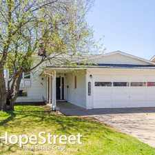 Rental info for 8516 10 Avenue NW
