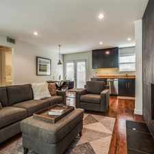 Rental info for Newly Updated Furnished Condo in the M Streets area