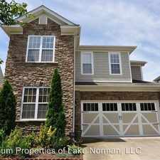 Rental info for 6118 Stone Porch Road in the Providence Crossing area