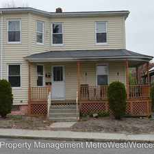 Rental info for 16 Fairview Road in the Milford area