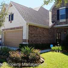 Rental info for 4031 Waterford Ln. in the Missouri City area