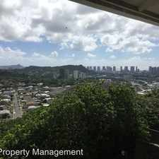 Rental info for 1128 Kaumailuna Place in the 96817 area