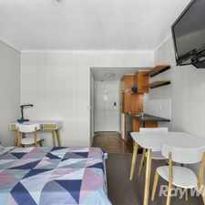 Rental info for Studio living - Perfect start to living alone (Entry via 7 Hope Street)
