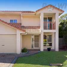 Rental info for 3 BEDROOM TOWNHOUSE IN A GATED COMPLEX IN RUNCORN in the Eight Mile Plains area